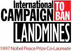 International campaign to ban Landmines - 1997 Novel Peace Prize Co-Laureate