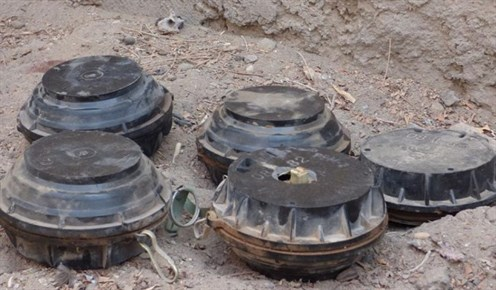 Landmine Use By Houthis In Yemen C HRW 599X350