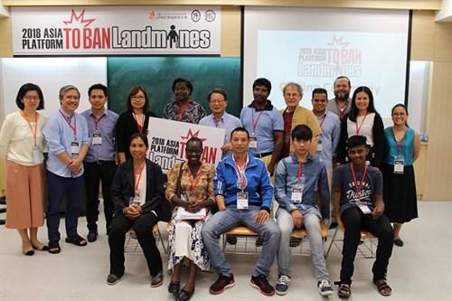 2018 Asia Platform to Ban Landmines 599x350